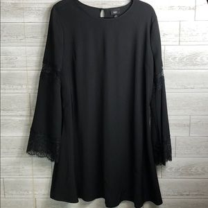 Black Mossimo swing dress Large